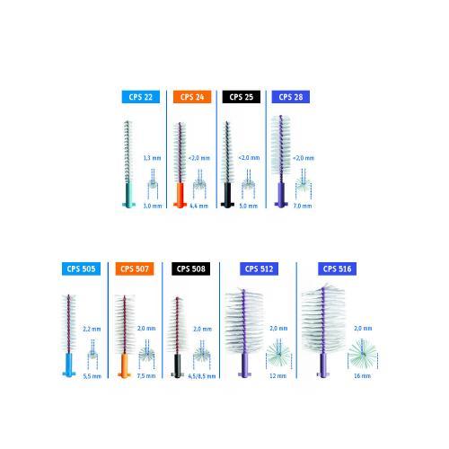 CPS Implant/Soft Implant Bürsten