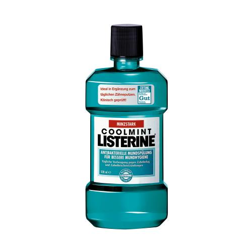Listerine Probiergrößen