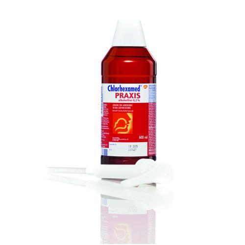 Chlorhexamed Praxis 0,2 %, 600 ml